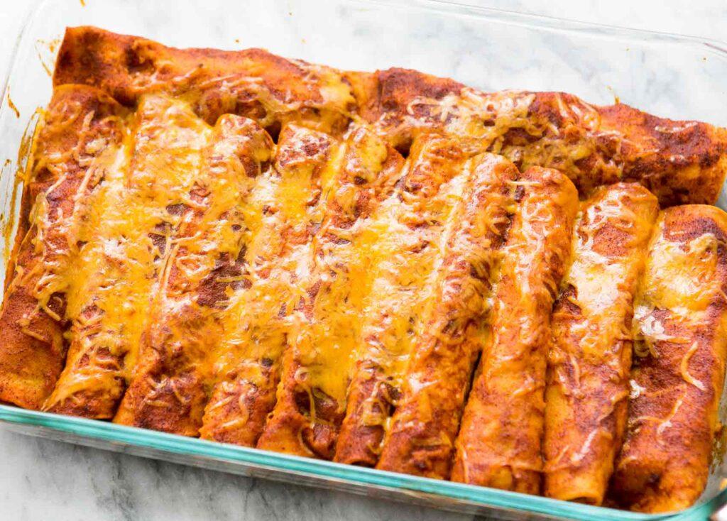 Enchilada vs Burrito