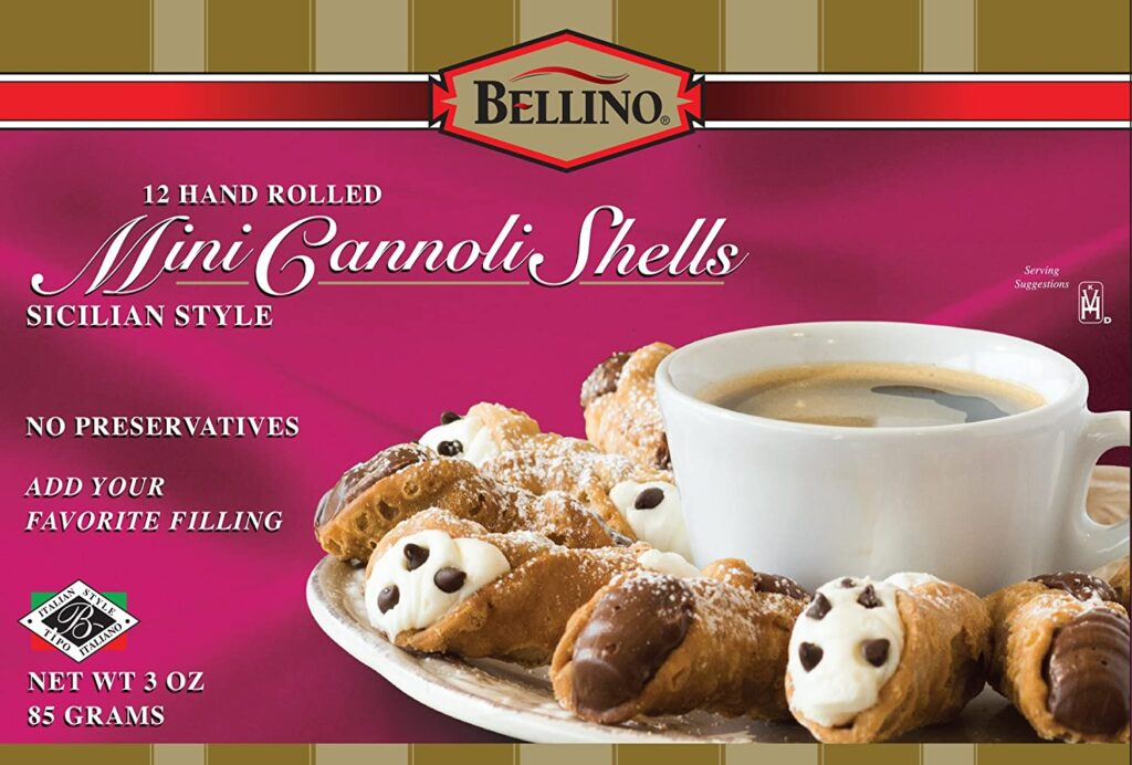 Find Cannoli Shells In Grocery Store
