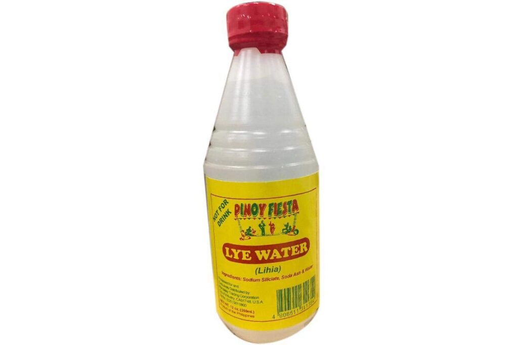 Substitute For Lye Water
