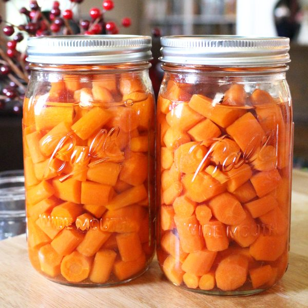 Can Carrots Without A Pressure Canner