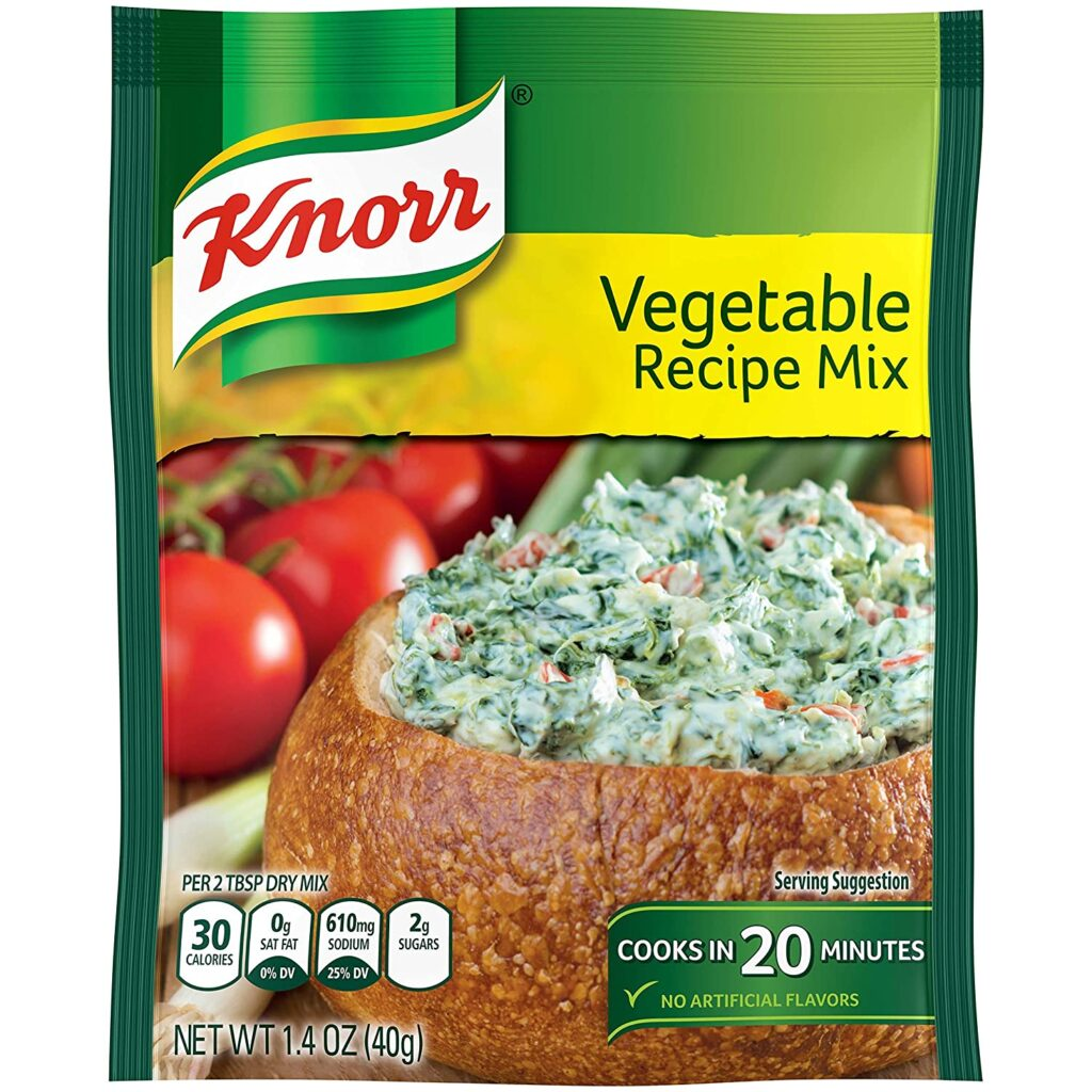 Find Knorr Vegetable Recipe Mix In Grocery Store