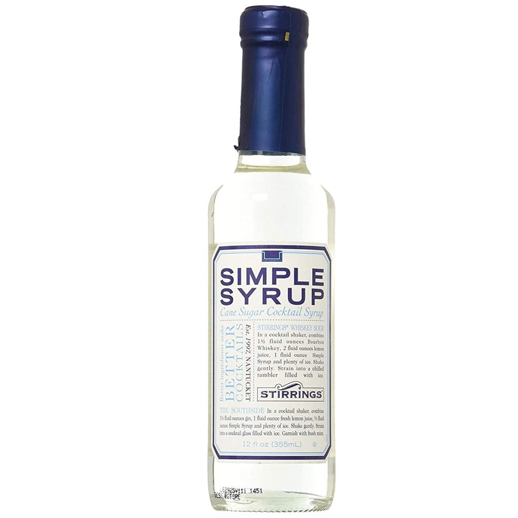 Find Simple Syrup In Grocery Store